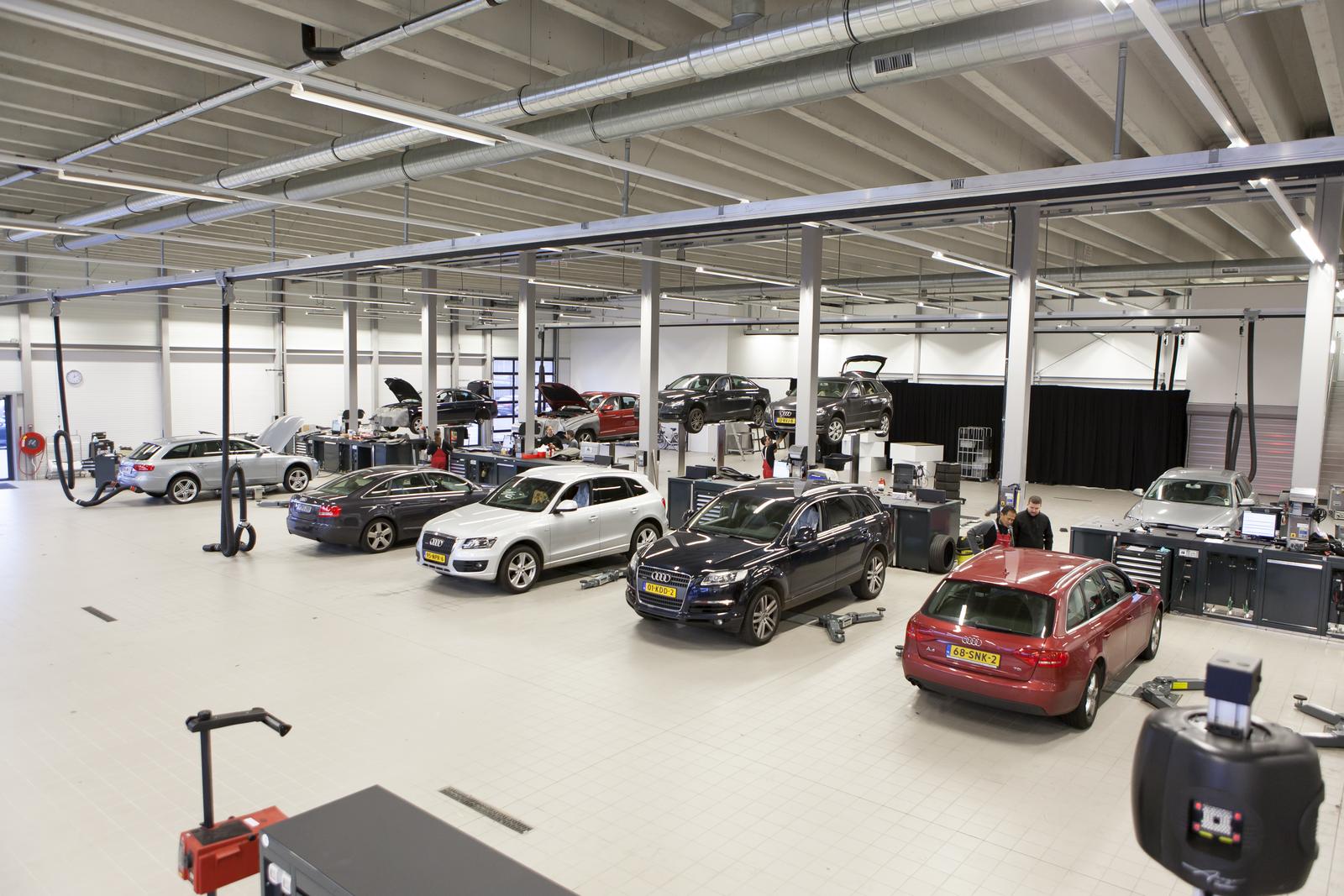 Grootste audi dealer van europa in amsterdam for Auto interieur reinigen amsterdam