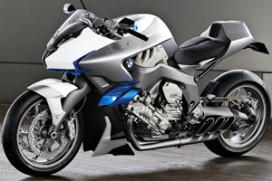 BMW motorfiets met zescilinder lijnmotor!