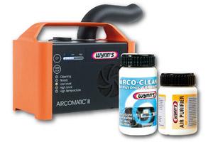 Wynn's Aircomatic III bestrijdt stank met ozon en ultrageluid