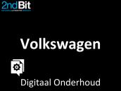 Digitale onderhoudsboekjes Volkswagen niet beschikbaar