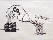 Ford maakt stoelen van CO2