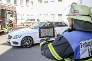 Mercedes-Benz: intelligente app voor hulpdiensten