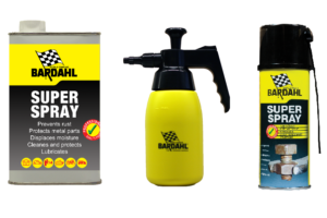 Bardahl levert Super Spray in grootverpakking