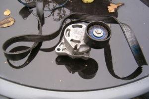 Opgelost op AMT Garageforum: multi-V-riem knapt na 20.000 km