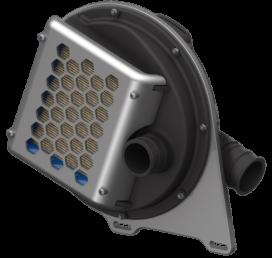 Drumcharger uitlaatgascompressor simpel en niet duur