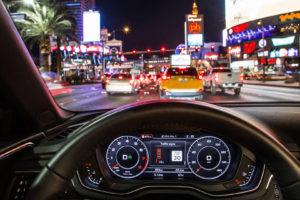 Audi connect met verkeerslichten