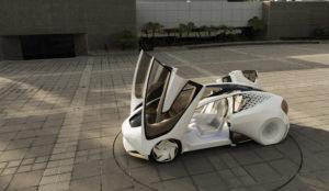 De toekomst is aan zelfdenkende auto's, leerde de CES show waar deze Toyota Concept-i verscheen. Alle trends van de CES brachten we in beeld in het januari-nummer van AMT.
