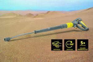 Kärcher introduceert nieuwe hogedrukpistolen tijdens Dakar 2017