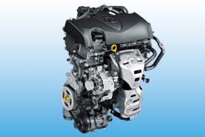 Toyota 1.5 benzinemotor met watergekoeld uitlaatspruitstuk