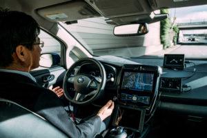 Nissan test eerste autonome auto