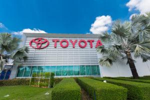 Toyota positiever over winst