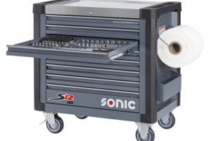 Sonic levert S12XD gevulde gereedschapskar met extra diepe lades
