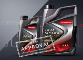 Champion 0W20 motorolie krijgt OEM-goedkeuring van VW Groep