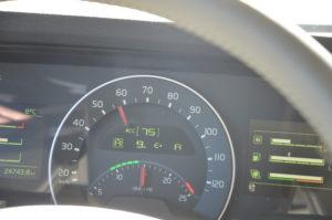 PowerShiften tijdens acceleren, turbodruk blijft maximaal