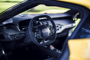 Interieur van de Ford GT
