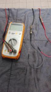 De Beta-multimeter van Thomas Donné gaat al zeven jaar mee en is altijd handig om een basisdiagnose mee uit te voeren.