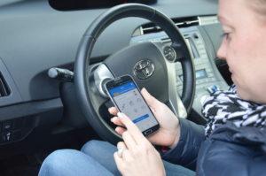 """Leuk zo'n app op je telefoon die laat zien hoe je auto ervoor staat. """"Maar zelfs de officiële VW Connect-app gooien mensen gewoon van hun telefoon als ze hem opschonen"""", weet Thijs Leentvaar van Fource."""