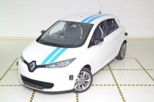 Video: Renault Zoe voert autonoom de Elandtest uit