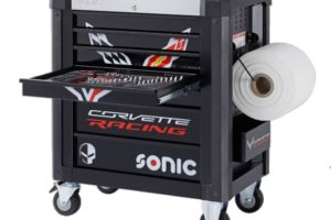 Sonic presenteert toolbox geïnspireerd door de Chevrolet Corvette