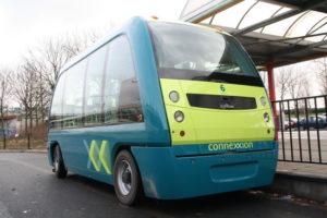 Veel KPMG-ondervraagden zien autonome shuttles zoals deze van 2getthere in Rotterdam in plaats komen voor een groot deel van het huidig openbaar vervoer.