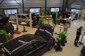 Aircoservice: Trainen voor diploma TMA