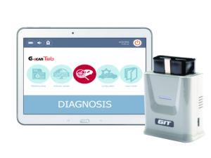 De G-Scan TAB is een bluetooth OBD2-dongle met software voor installatie op een Windows PC, laptop of table