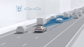 Bosch analyseert: rijhulpsystemen steeds meer standaard